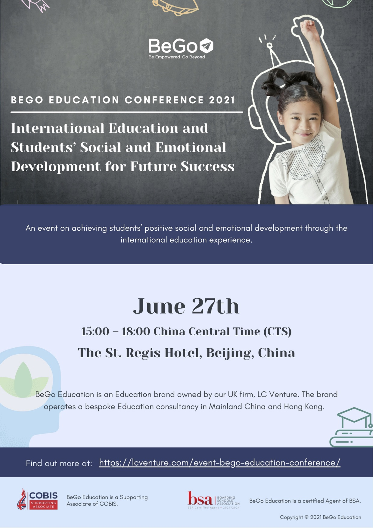 BeGo Education Conference 2021 - Poster
